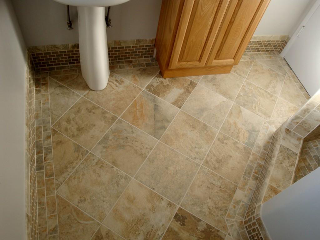 Remove bathroom floor tile