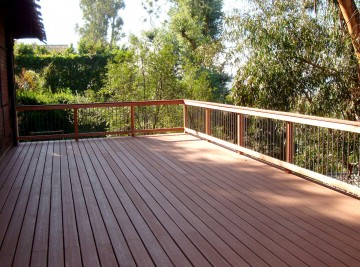 patios, decks, balconies, and pergolas